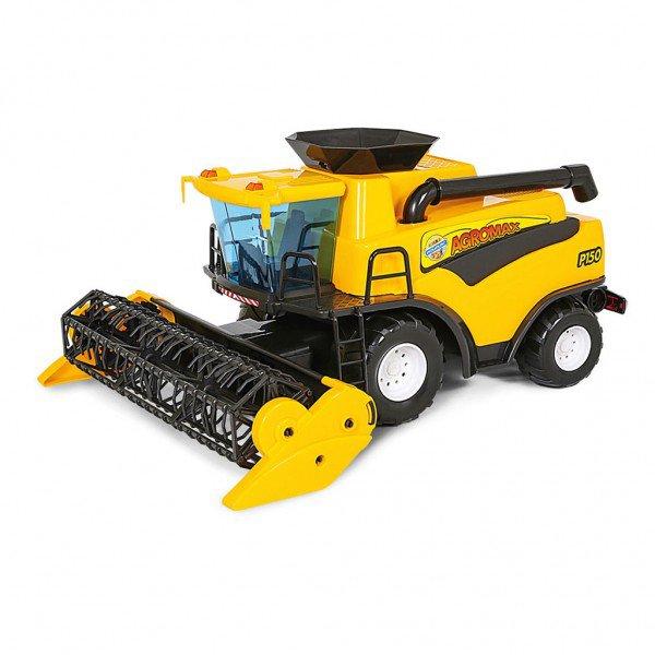6891 colheitadeira amarela