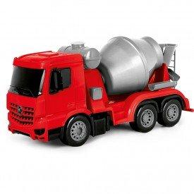 7249 superfrota betoneira vermelho