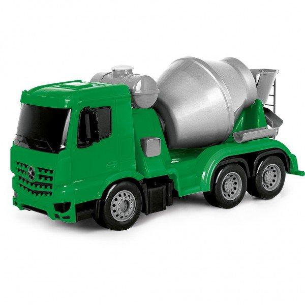 7249 superfrota betoneira verde