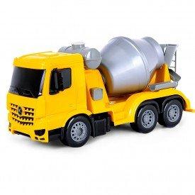 7249 superfrota betoneira amarelo