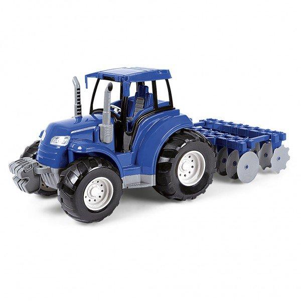 5979 trator arado azul