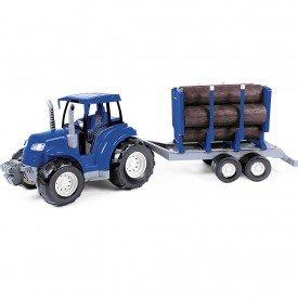 5955 trator toras azul