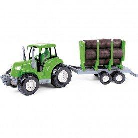 5955 trator toras verde